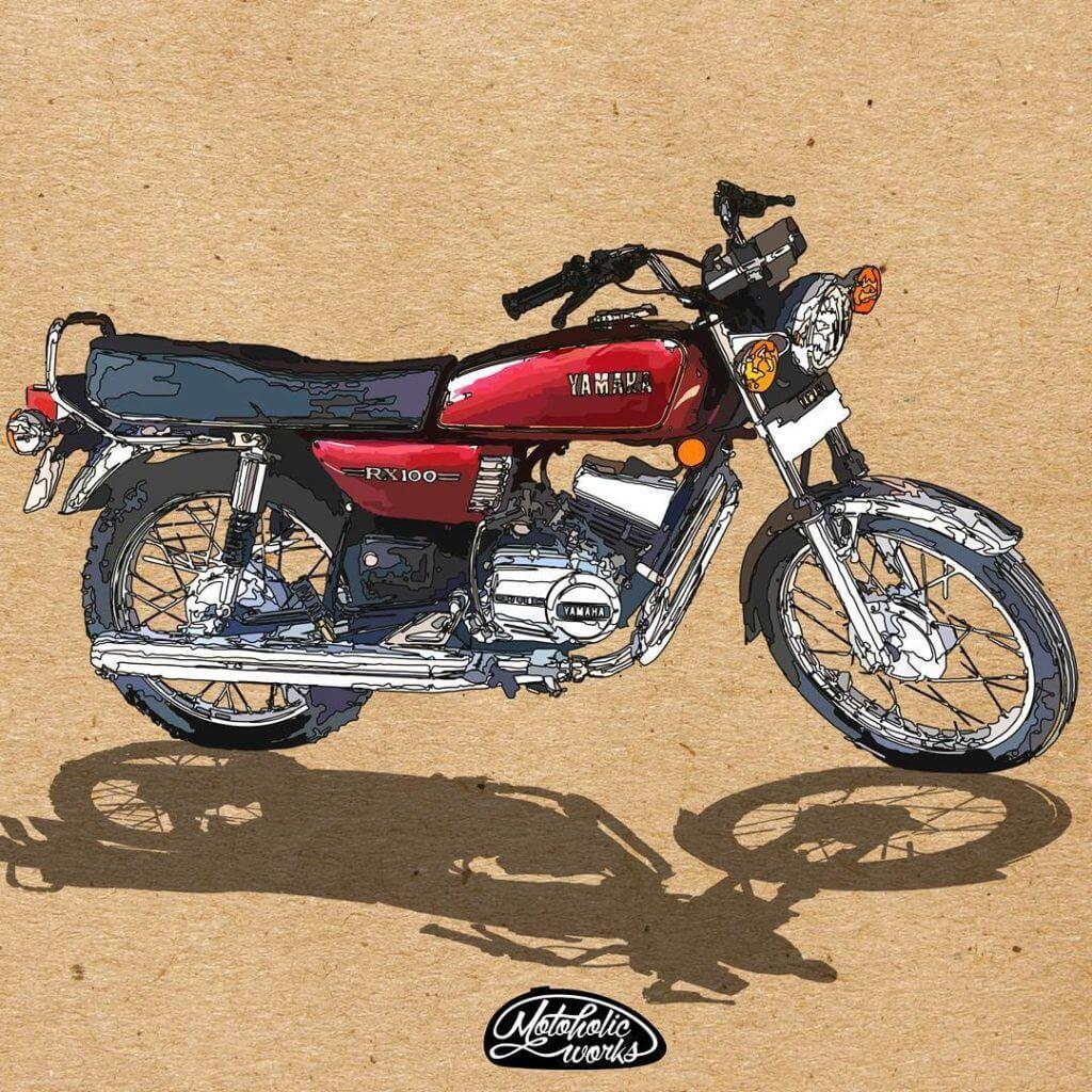 Yamaha RX 100 FACTS