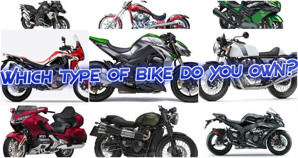 A simple guide to different types of Motorcycles.