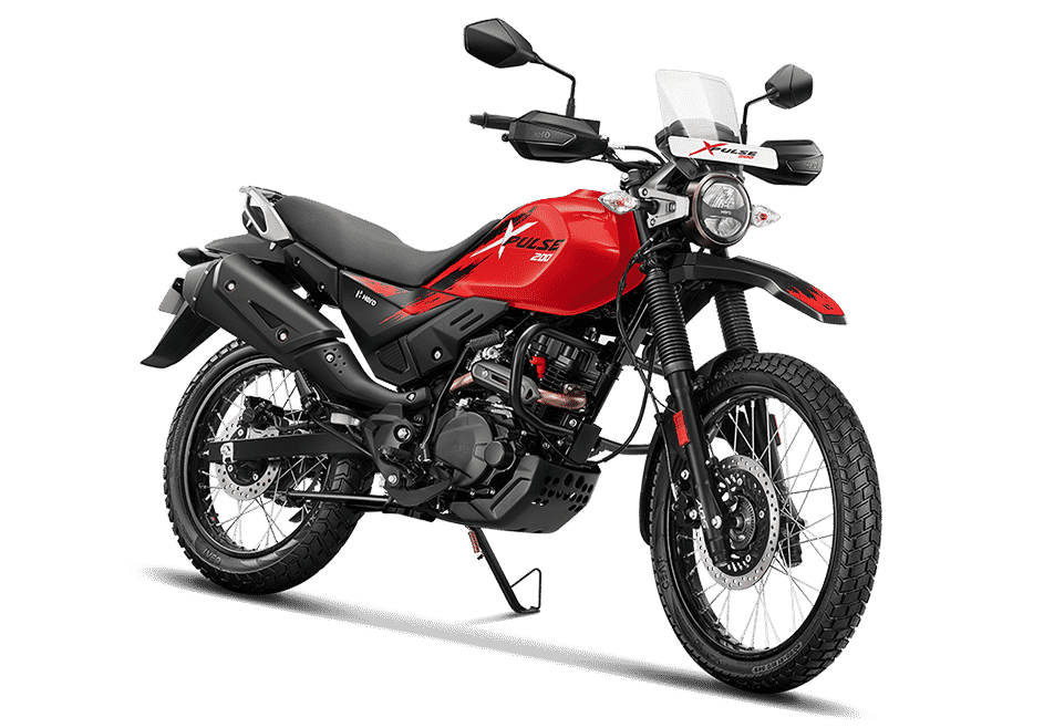 Hero Xpulse 200 red