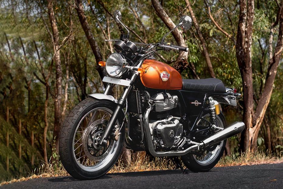 Royal Enfield Interceptor.
