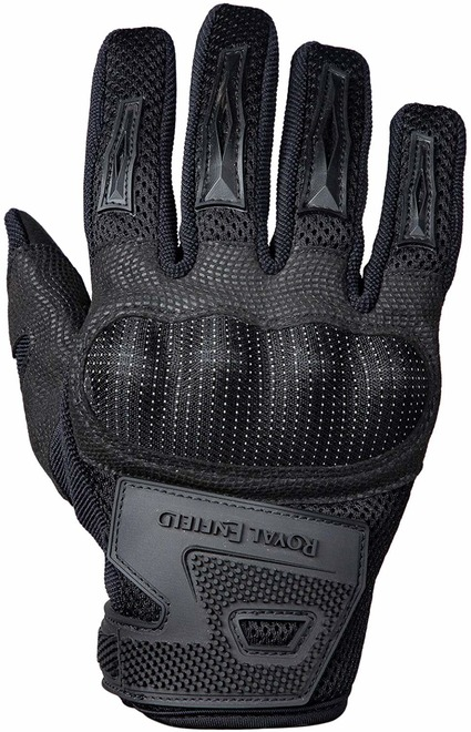 black riding glove by royal enfield