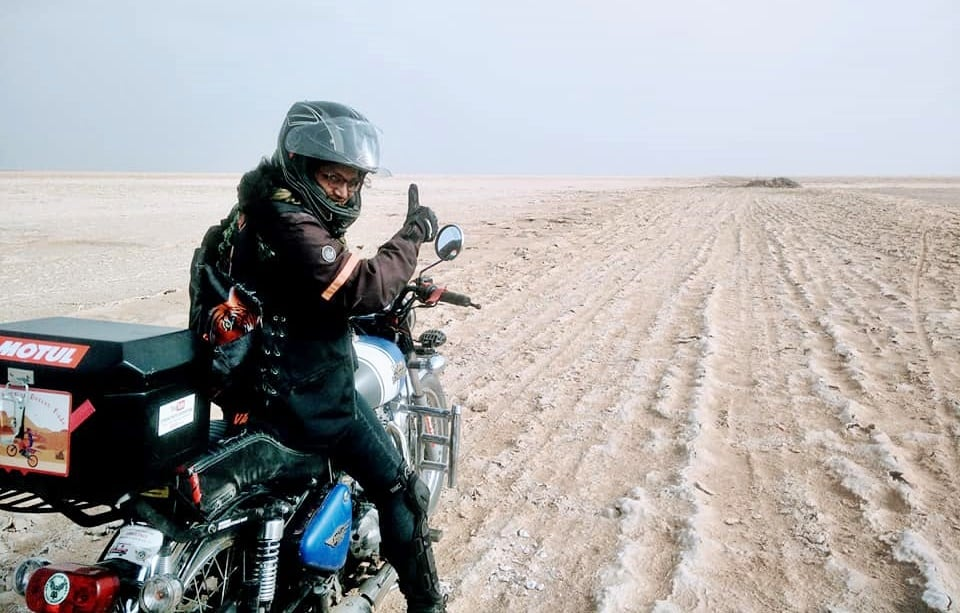 female bikers of India