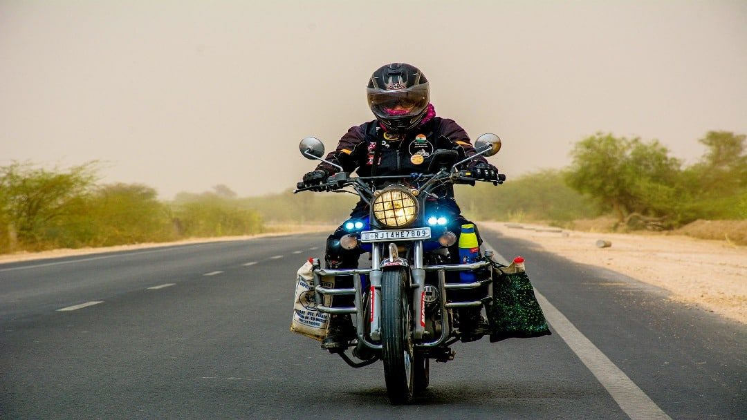 Queen of Motorcycle Touring: An Interview with Vaishali Bhagat.