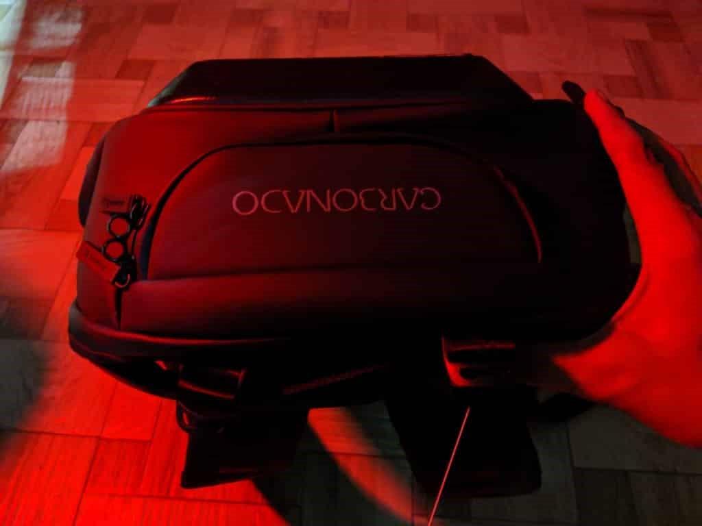 carbonado black backpack