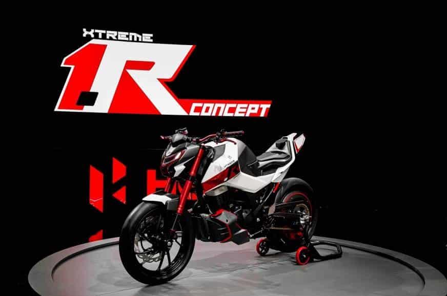 hero xtreme 1r concept bike