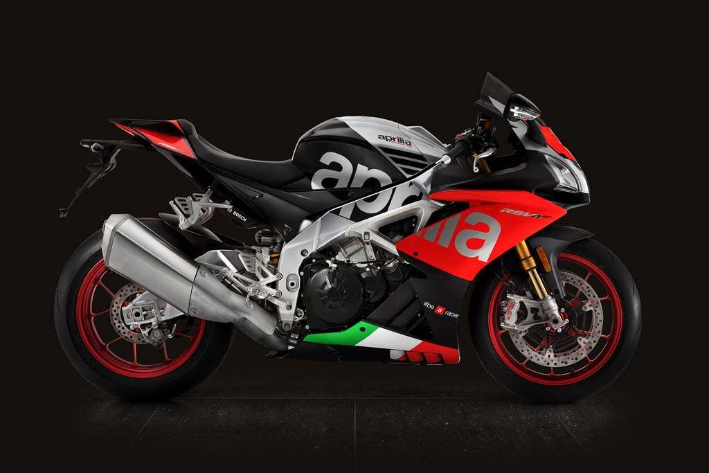 aprilia rsv rf red and black