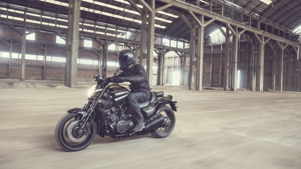 yamaha v max 60th anniversary special in a factory